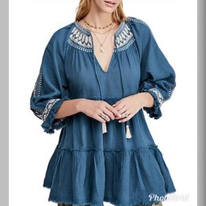 Free People Dreamweaver Tunic Top